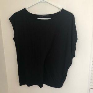 Woman's All Saints Black Top Size S